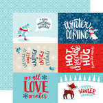 Echo Park - Celebrate Winter Collection - 12 x 12 Double Sided Paper - 4 x 6 Journaling Cards