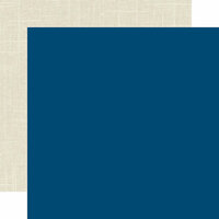 Echo Park - Celebrate Winter Collection - 12 x 12 Double Sided Paper - Dark Blue