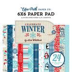 Echo Park - Celebrate Winter Collection - 6 x 6 Paper Pad