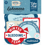 Echo Park - Celebrate Winter Collection - Ephemera
