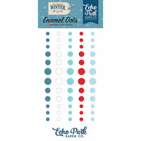 Echo Park - Celebrate Winter Collection - Enamel Dots