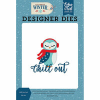 Echo Park - Celebrate Winter Collection - Designer Dies - Chill Out Owl