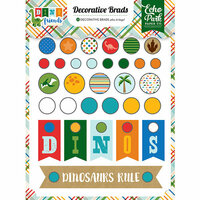 Echo Park - Dino Friends Collection - Decorative Brads