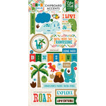 Echo Park - Dino Friends Collection - Chipboard Stickers