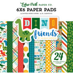 Echo Park - Dino Friends Collection - 6 x 6 Paper Pad