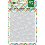 Echo Park - Dino Friends Collection - Embossing Folder - Dinosaurs
