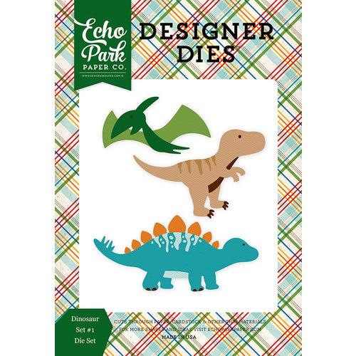 Echo Park - Dino Friends Collection - Designer Dies - Dinosaur - Set 1