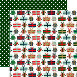 Echo Park - Deck the Halls Collection - Christmas - 12 x 12 Double Sided Paper - Glorious Gifts