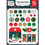 Echo Park - Deck the Halls Collection - Christmas - Decorative Brads