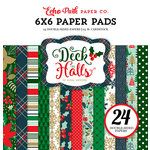Echo Park - Deck the Halls Collection - Christmas - 6 x 6 Paper Pad