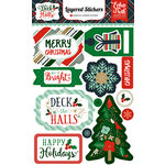 Echo Park - Deck the Halls Collection - Christmas - Layered Stickers