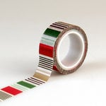 Echo Park - Deck the Halls Collection - Christmas - Decorative Tape - Holiday Stripe