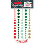 Echo Park - Deck the Halls Collection - Christmas - Enamel Dots