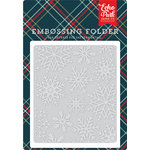 Echo Park - Deck the Halls Collection - Christmas - Embossing Folder - Snowflake 3