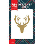 Echo Park - Deck the Halls Collection - Christmas - Designer Dies - Holiday Deer