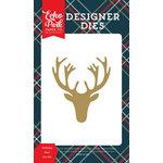Echo Park - Deck the Halls Collection - Christmas - Designer Dies - Holiday Deer