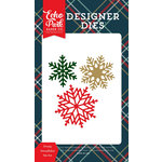 Echo Park - Deck the Halls Collection - Christmas - Designer Dies - Frosty Snowflakes