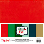 Echo Park - Deck the Halls Collection - Christmas - 12 x 12 Paper Pack - Solids