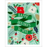 Echo Park - Deck the Halls Collection - Christmas - Art Print - 11 x 14 - Happy Holidays