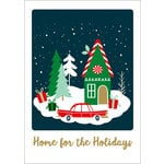 Echo Park - Deck the Halls Collection - Christmas - Art Print - 5 x 7 - Home for the Holidays