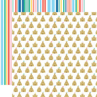 Echo Park - Dive Into Summer Collection - 12 x 12 Double Sided Paper - Sandcastle Kingdom
