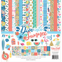 Echo Park - Dive Into Summer Collection - 12 x 12 Collection Kit