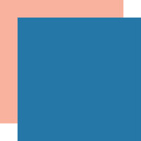Echo Park - Dive Into Summer Collection - 12 x 12 Double Sided Paper - Blue