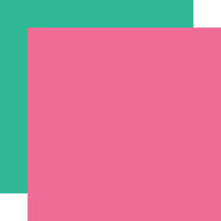 Echo Park - Dive Into Summer Collection - 12 x 12 Double Sided Paper - Pink