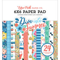 Echo Park - Dive Into Summer Collection - 6 x 6 Paper Pad