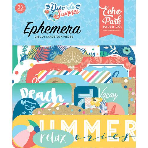 Echo Park - Dive Into Summer Collection - Ephemera