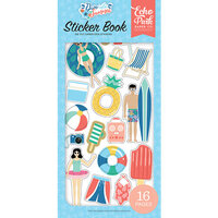 Echo Park - Dive Into Summer Collection - Cardstock Sticker Book