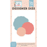 Echo Park - Day In The Life Collection - Designer Dies - Watercolor Splotches