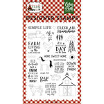 Echo Park - Down on the Farm Collection - Clear Acrylic Stamps