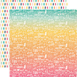 Echo Park - Summer Dreams Collection - 12 x 12 Double Sided Paper - Summer Vacation