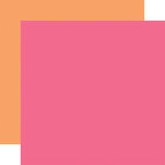 Echo Park - Summer Dreams Collection - 12 x 12 Double Sided Paper - Dark Pink