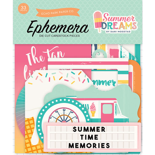 Echo Park - Summer Dreams Collection - Ephemera