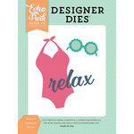 Echo Park - Summer Dreams Collection - Designer Dies - Summer Essentials