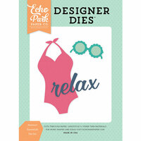 Echo Park - Summer Dreams Collection - Designer Dies - Summer Essentials