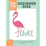 Echo Park - Summer Dreams Collection - Designer Dies - Flamingo Chill