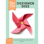 Echo Park - Summer Dreams Collection - Designer Dies - Sunny Pinwheel