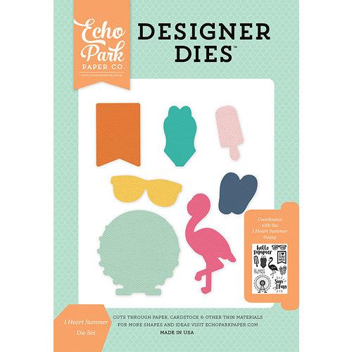 Echo Park - Summer Dreams Collection - Designer Dies - I Heart Summer