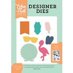 Echo Park - Summer Dreams Collection - Designer Dies - I Heart Summer