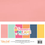 Echo Park - Summer Dreams Collection - 12 x 12 Paper Pack - Solids