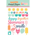 Echo Park - Summer Dreams Collection - Enamel Shapes