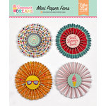 Echo Park - Summer Dreams Collection - Mini Paper Fans