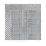 Echo Park - Dots and Stripes Collection - Christmas - 12 x 12 Double Sided Paper - Silver
