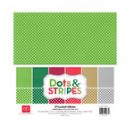 Echo Park - Dots and Stripes Collection - Christmas - 12 x 12 Collection Kit