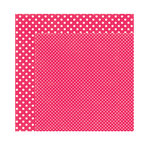 Echo Park - Dots and Stripes Collection - Valentine - 12 x 12 Double Sided Paper - Lipgloss