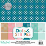 Echo Park - Dots and Stripes Collection - Silver Foil - 12 x 12 Collection Kit