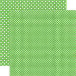 Echo Park - Dots and Stripes Collection - Summer - 12 x 12 Double Sided Paper - Limeade